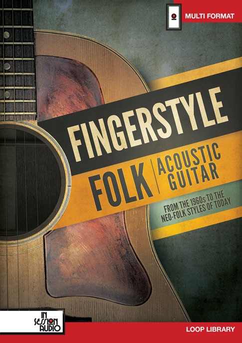 Fingerstyle Folk Acoustic Guitar