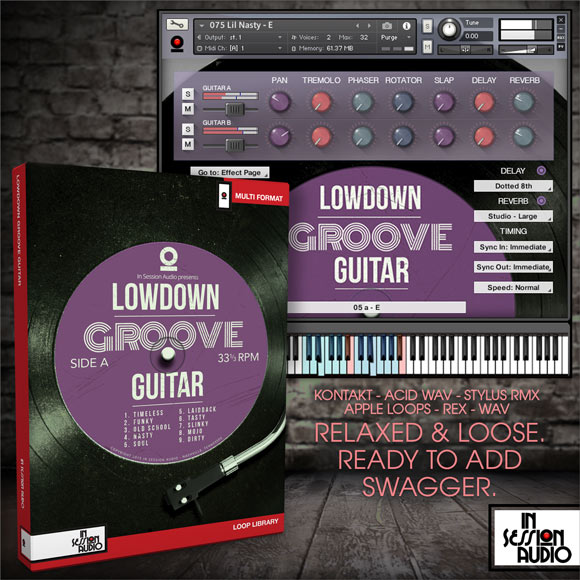 Lowdown Groove Guitar