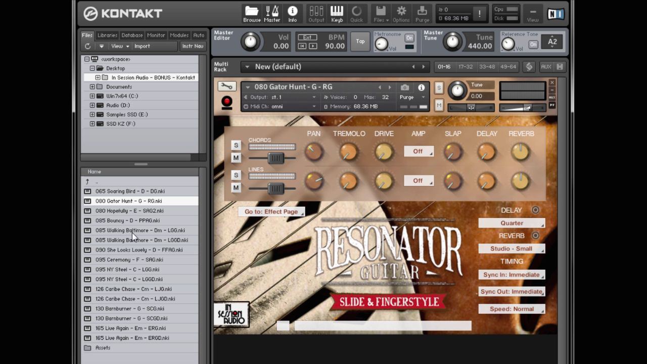 kontakt 5.8.1 add library mac