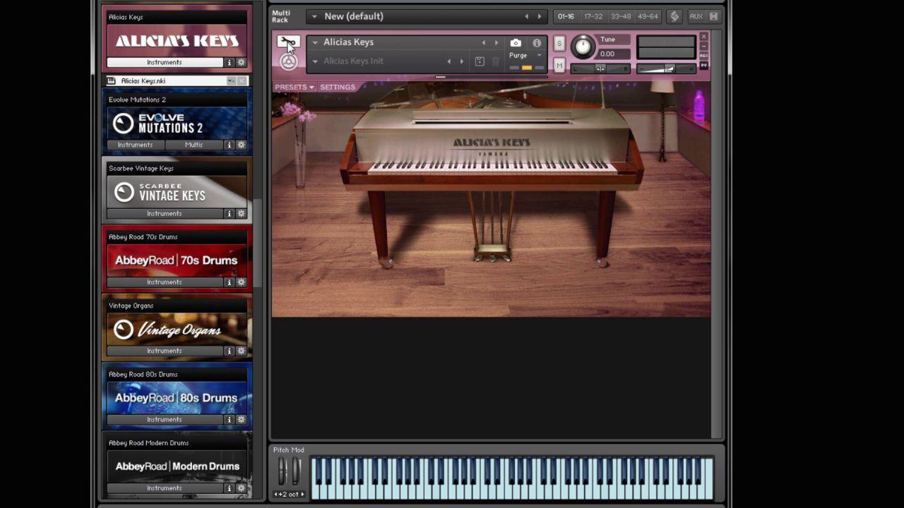 Single Finger Songwriting in Kontakt 5 - Alicias Keys