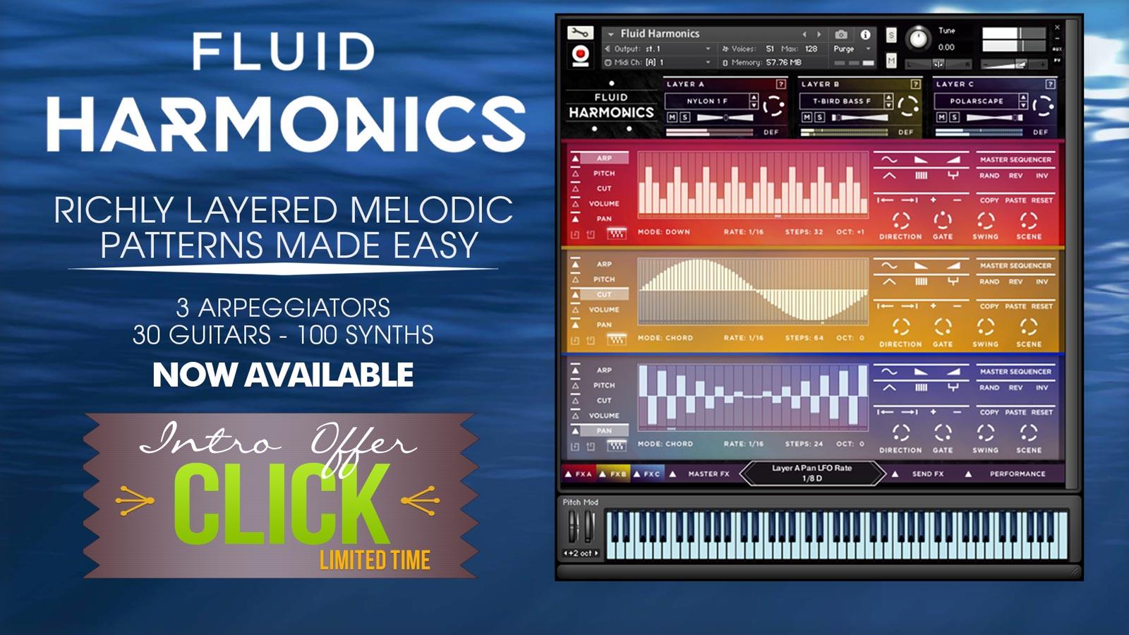 Fluid Harmonics is Here