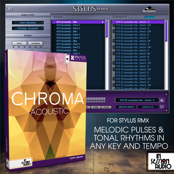 Chroma Acoustic - for Stylus RMX