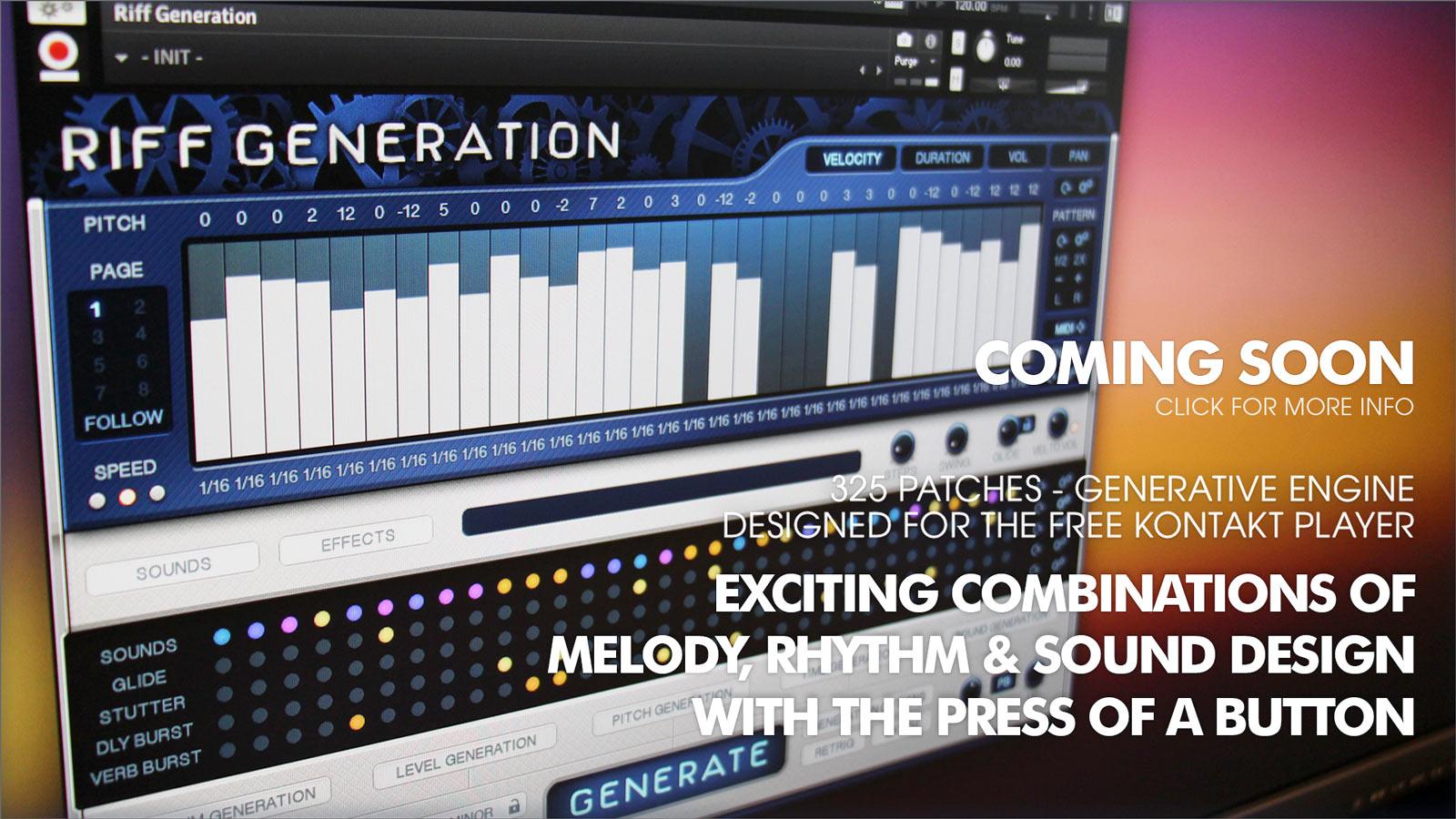 Riff Generation - Coming Soon