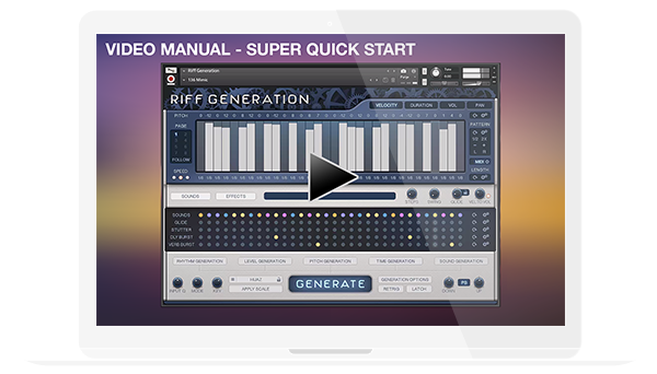 Riff Generation - Video Manual