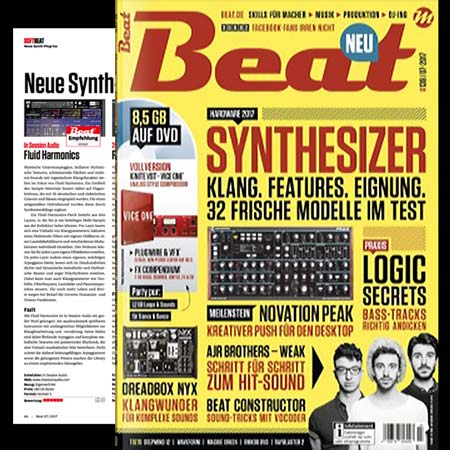 Fluid Harmonics Review from Beat Magazine July 2017
