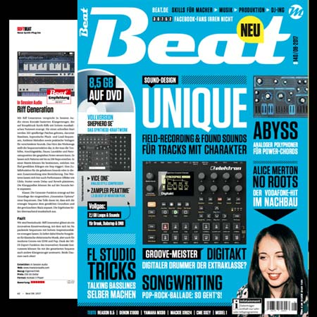 Riff Generation Review from Beat Magazine July 2017
