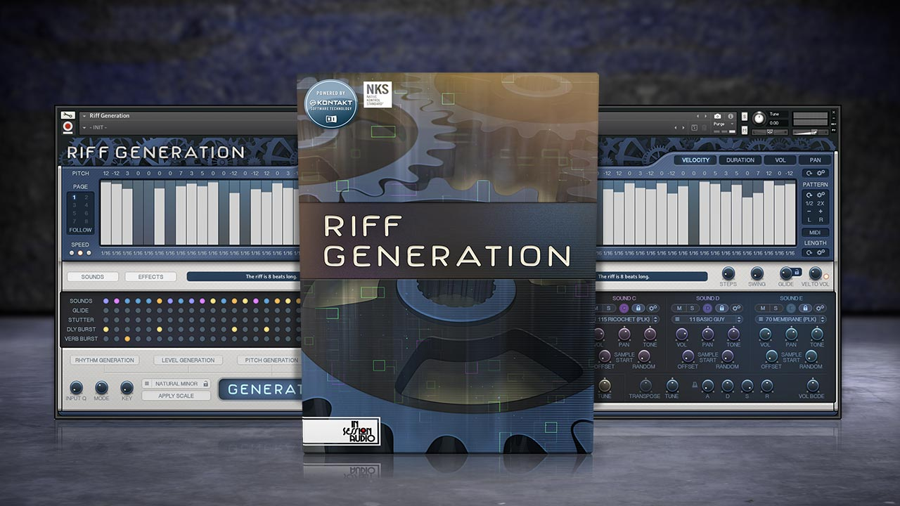 Riff Generation - for Kontakt and Kontakt Player
