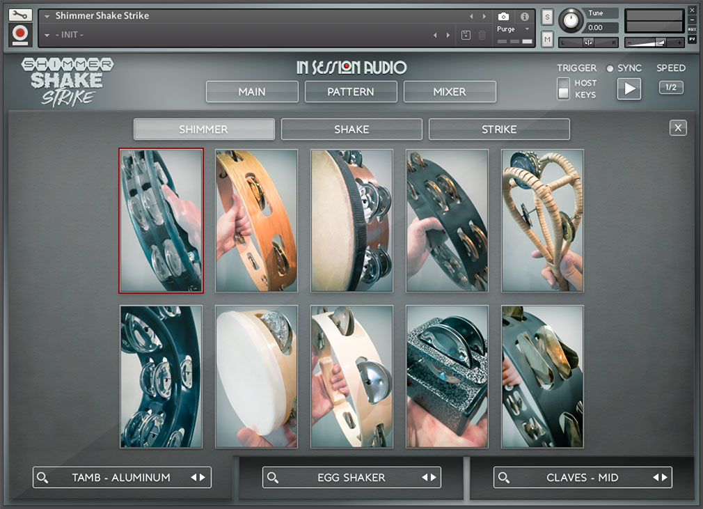 Shimmer Shake Strike - Tambourine Selection