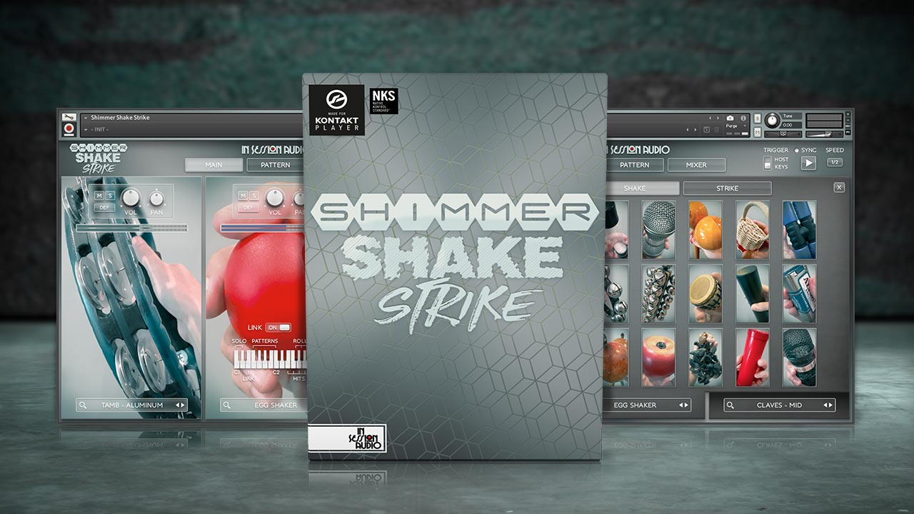 Shimmer Shake Strike - for Kontakt and Kontakt Player