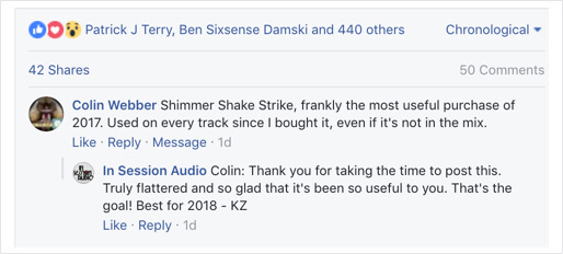 Shimmer Shake Strike Review