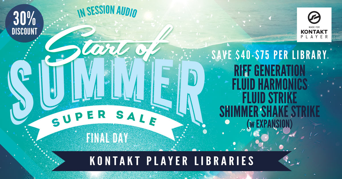 Start of Summer Sale