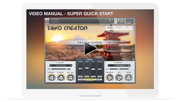 Taiko Creator - Video Manual