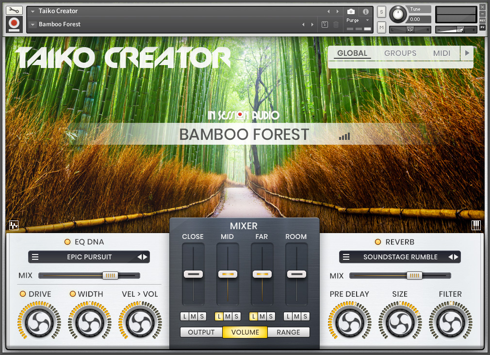 Taiko Creator - Bamboo Forest