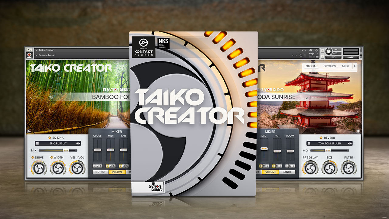 Taiko Creator - for Kontakt and Kontakt Player
