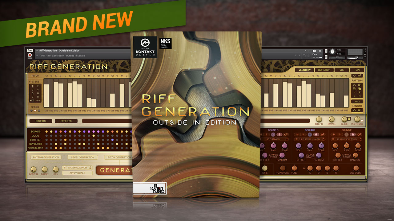 Riff Generation: Outside In Edition - for Kontakt and Kontakt Player