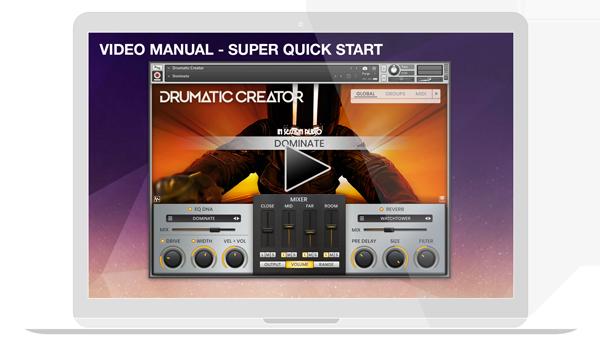 Drumatic Creator - Video Manual