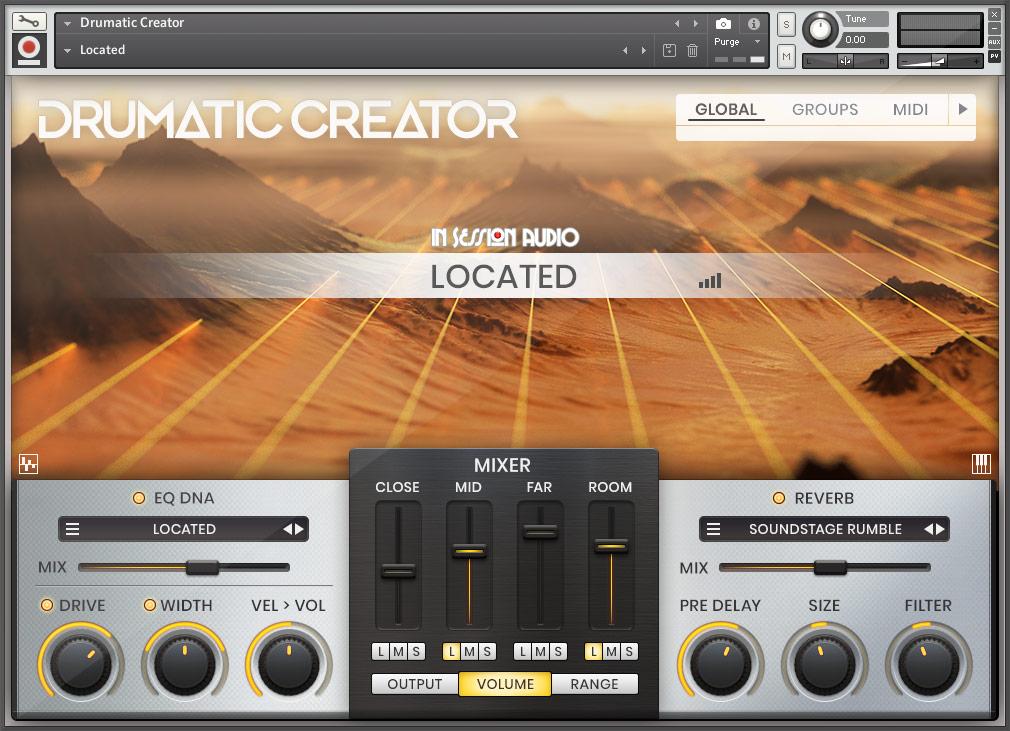 Drumatic Creator - Located