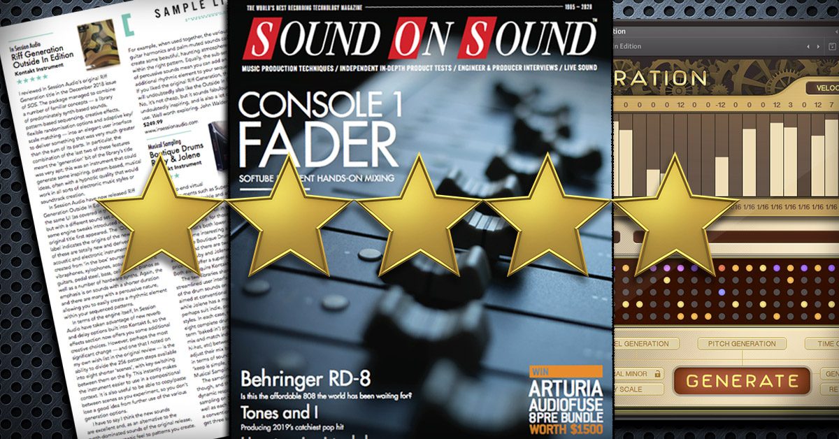Riff Generation Review from Sound on Sound