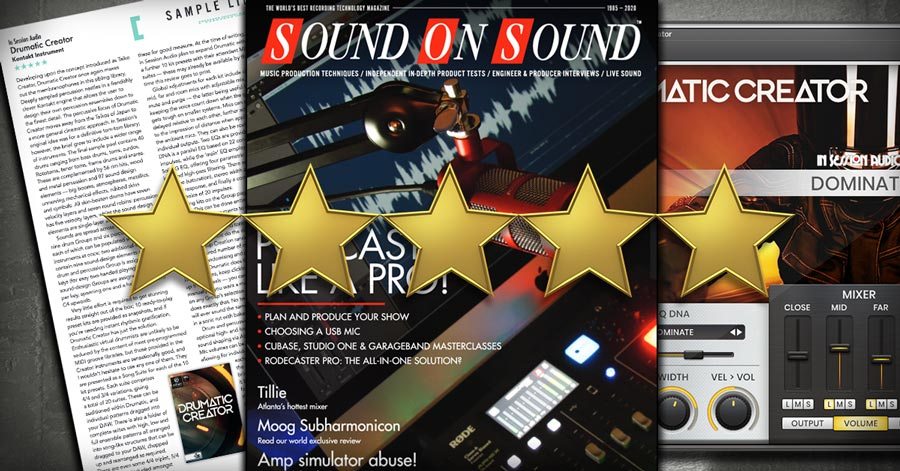 Drumatic Creator Review from Sound on Sound