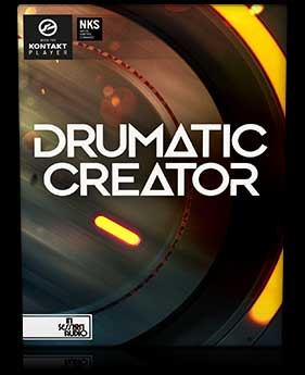 Drumatic Creator - Kontakt Player Sample Library - Epic Tom, Bass and Snare Drums