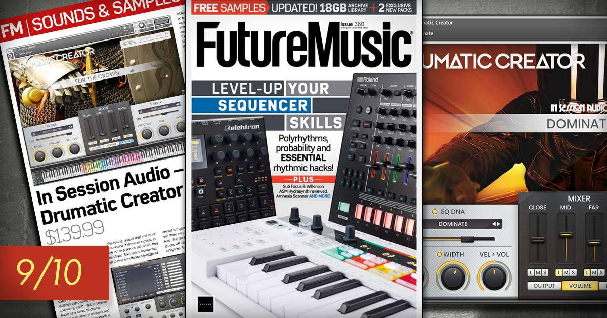 Drumatic Creator Review from Future Music Magazine