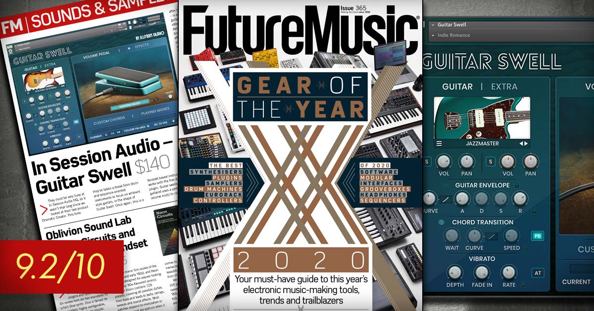 Review of Guitar Swell by In Session Audio by Future Music Magazine