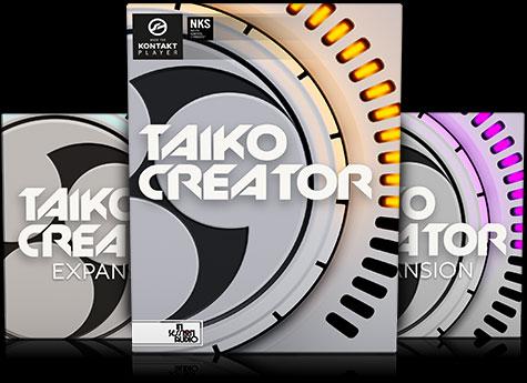 Taiko Creator - Japanese Drum Sample Library - Kontakt Player