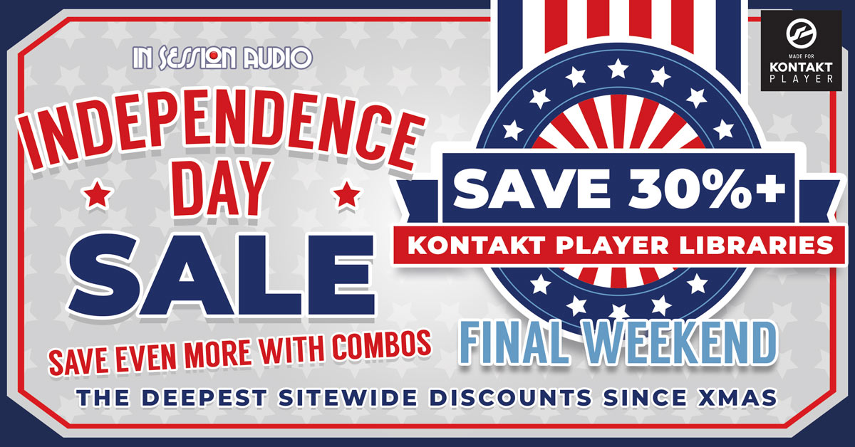In Session Audio Sale - Independence Day