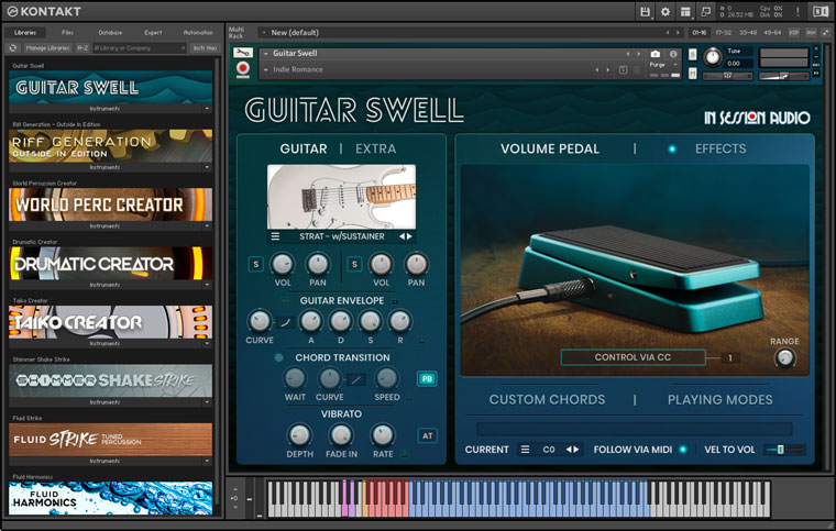 About Kontakt Player In Session Audio