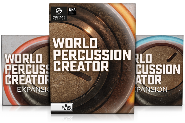 WORLD PERCUSSION CREATOR & EXPANSIONS