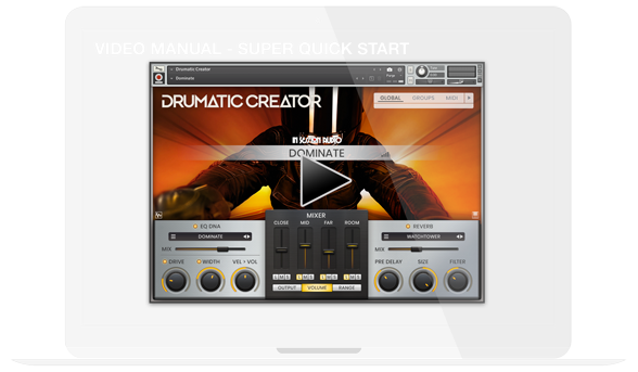 Video Walkthrough Drumatic Creator